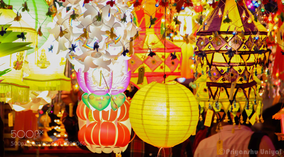 Photograph Colourful Lanterns by Priyanshu Uniyal on 500px