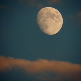 Moon and cloud by mustafa guler (berk24)) on 500px.com