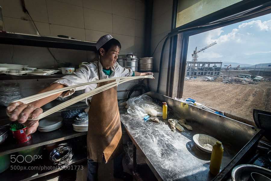 Photograph Noodle Maker by Evgeny Tchebotarev on 500px