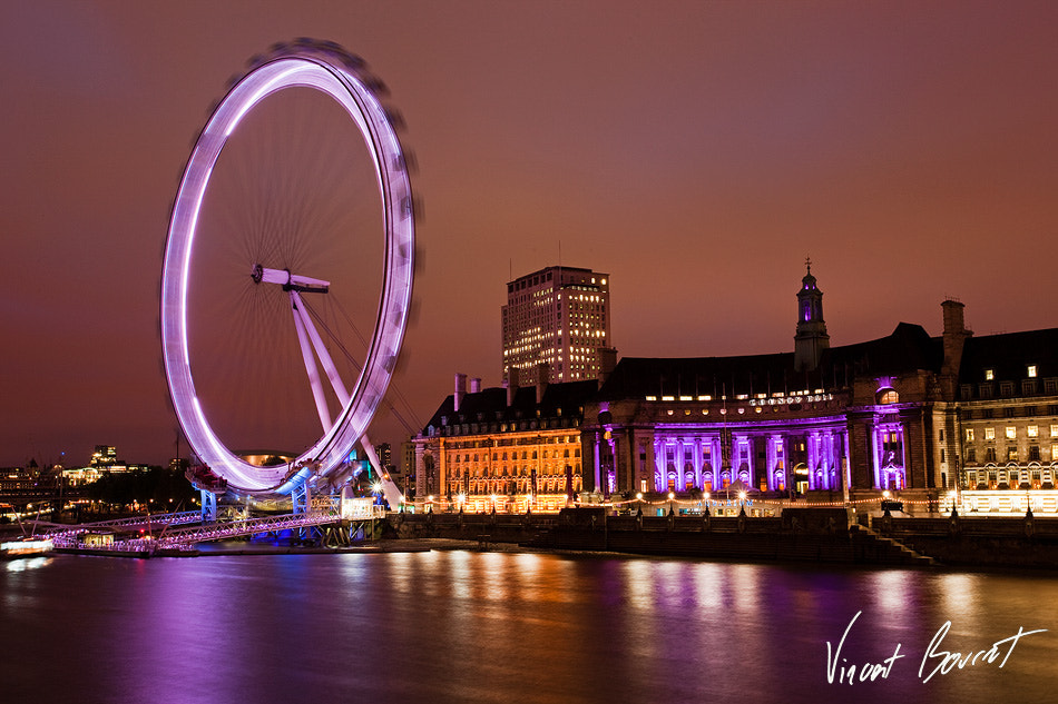 Photograph The London Eye by Vincent BOURRUT on 500px