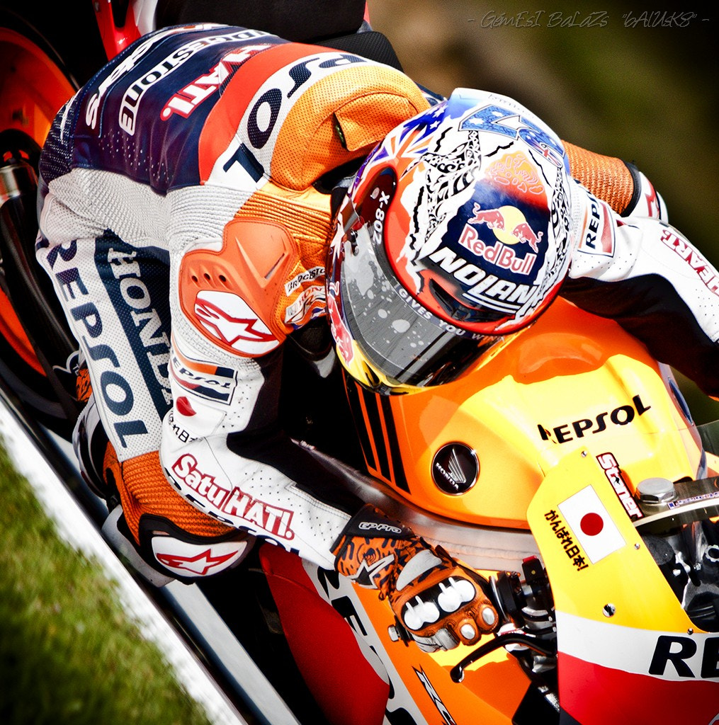 Photograph - Tribute to Casey Stoner -  by balazs gemesi on 500px