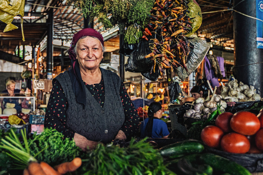 Market in Telavi by Jakub Doma?ski on 500px.com
