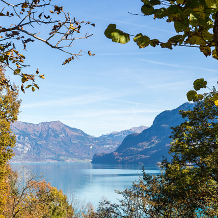 Lake of Brienz near Ringgenberg