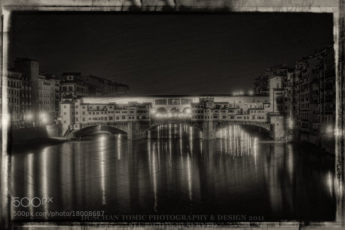 Photograph PONTE VECCHIO - FLORENCE by Duschan Tomic on 500px