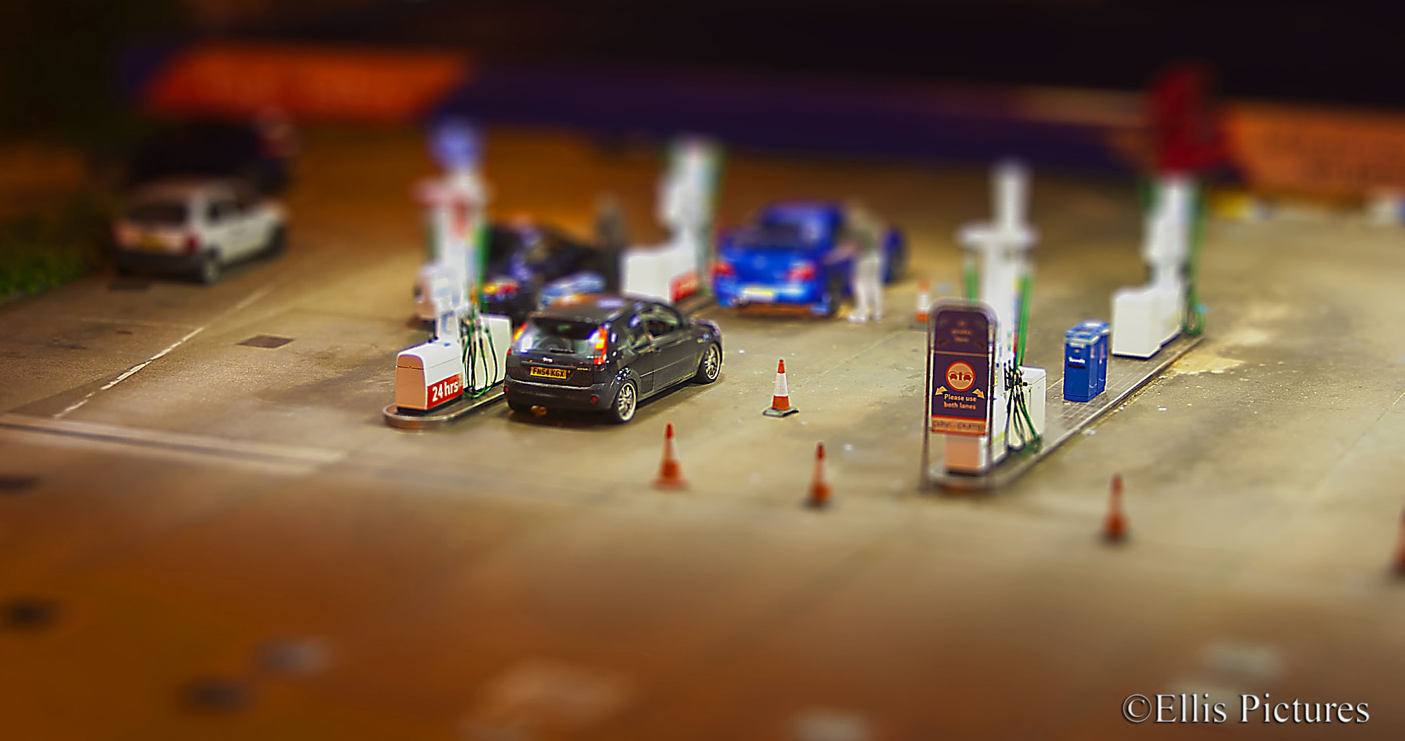 Photograph Toy Town Fuel Station by Steven Ellis on 500px