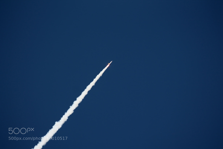 Photograph White Rocket Flightpath by Chris Sardegna on 500px