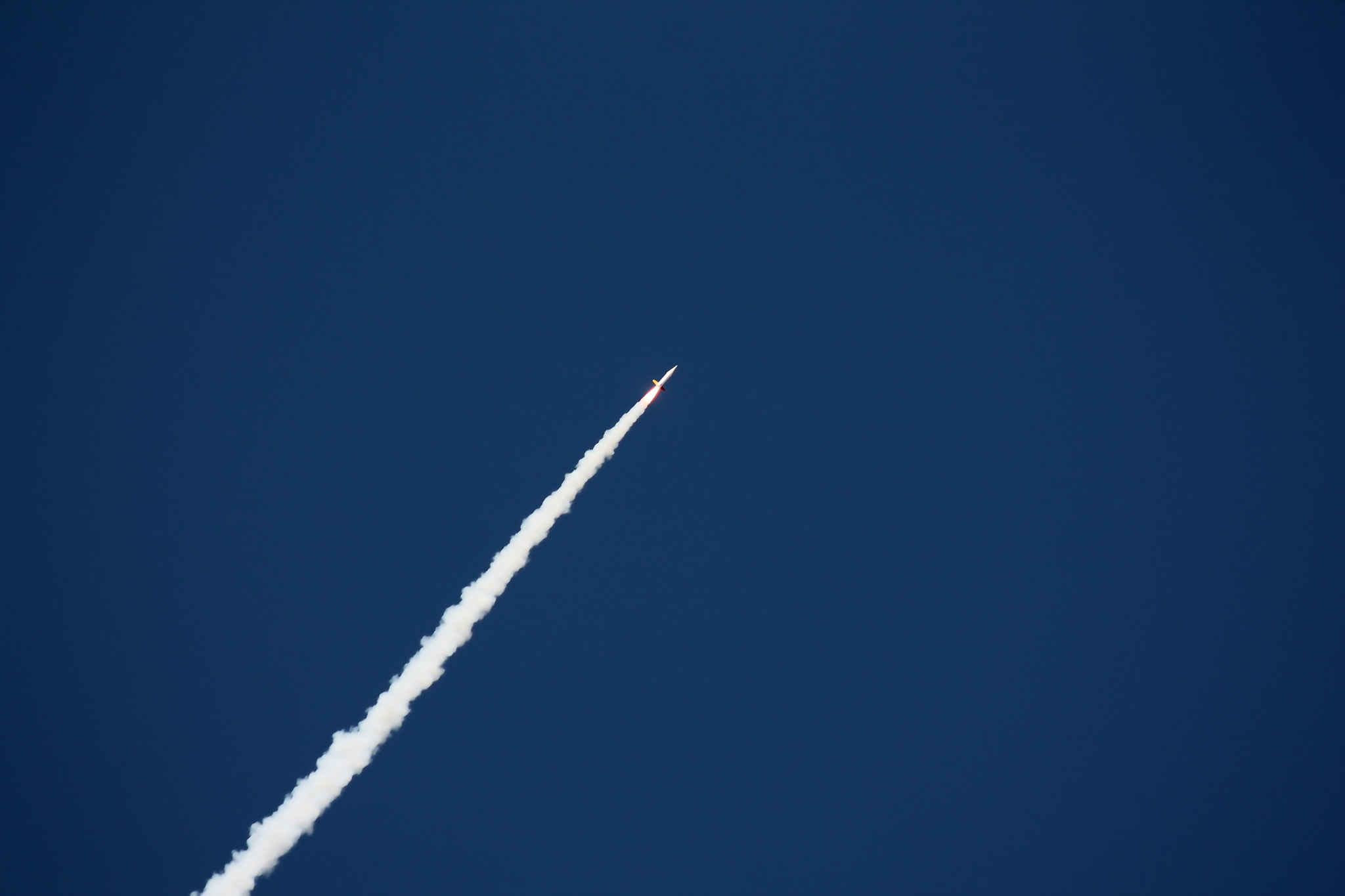 Photograph White Rocket Flightpath by Christopher Sardegna on 500px