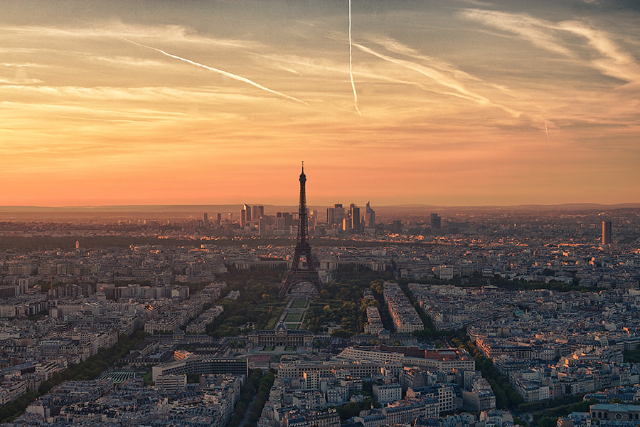 Photograph Sunset in Paris by Vanja Gavrić on 500px