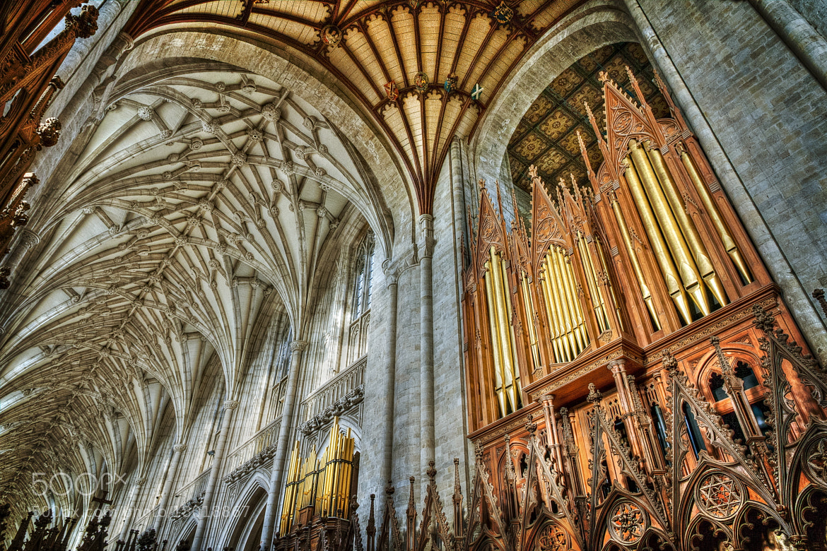 Photograph Organ and pipes, Winchester Cathedral by Chris Spracklen on 500px
