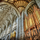 Постер, плакат: Organ and pipes Winchester Cathedral