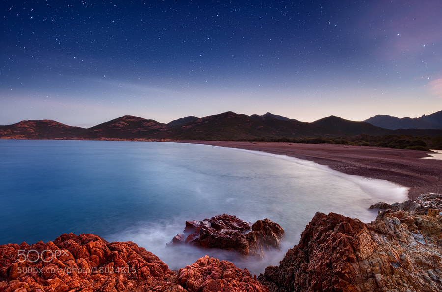 Photograph The Stars and the Ocean by Michael  Breitung on 500px