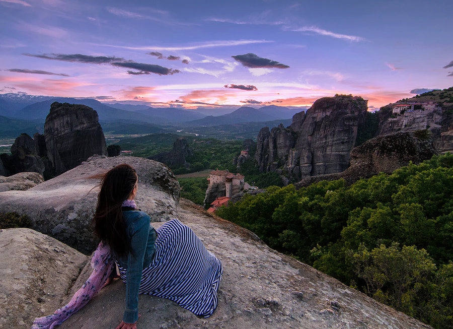 Gazing Meteora by Kostas Sarantopoulos on 500px.com
