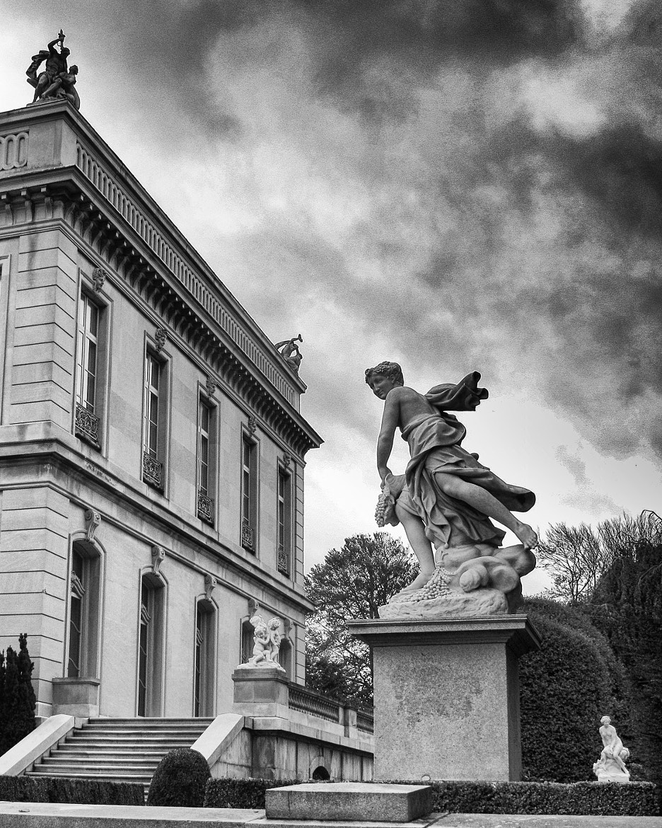 Photograph Elms Statues & Sky 4 by John Crouch on 500px