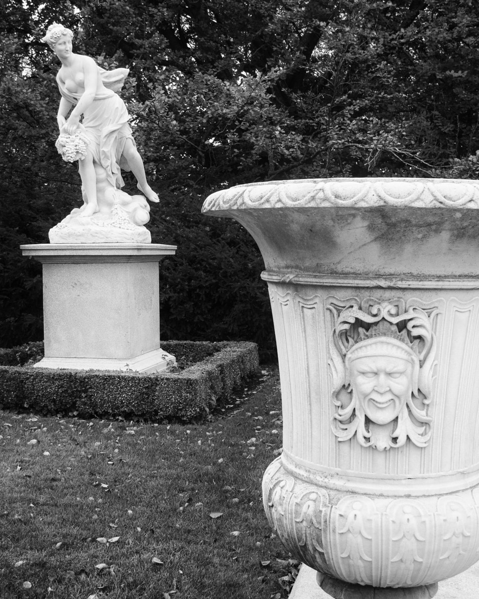 Photograph Elms Statues & Urn by John Crouch on 500px