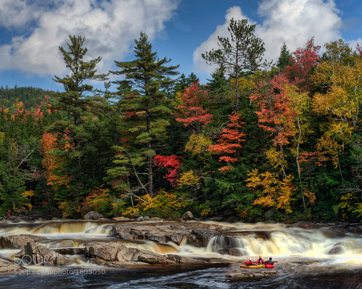Photograph Autumn's Kayakers by Kelly & Robert Walters on 500px