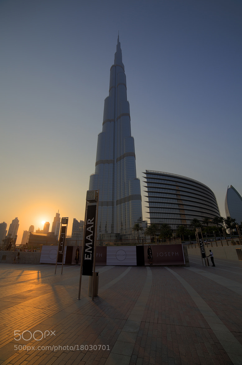 Photograph Sunset Burj by Timm Kasper on 500px