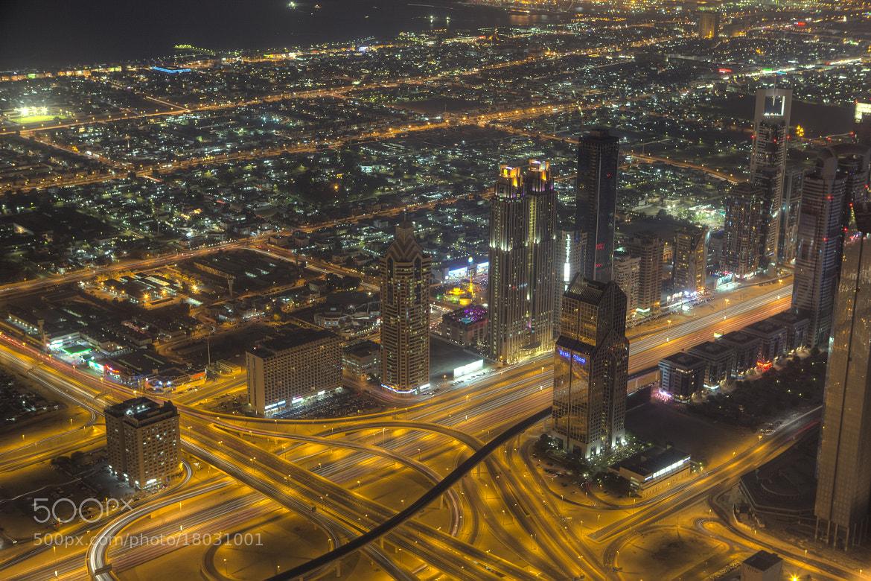 Photograph Dubai night by Timm Kasper on 500px