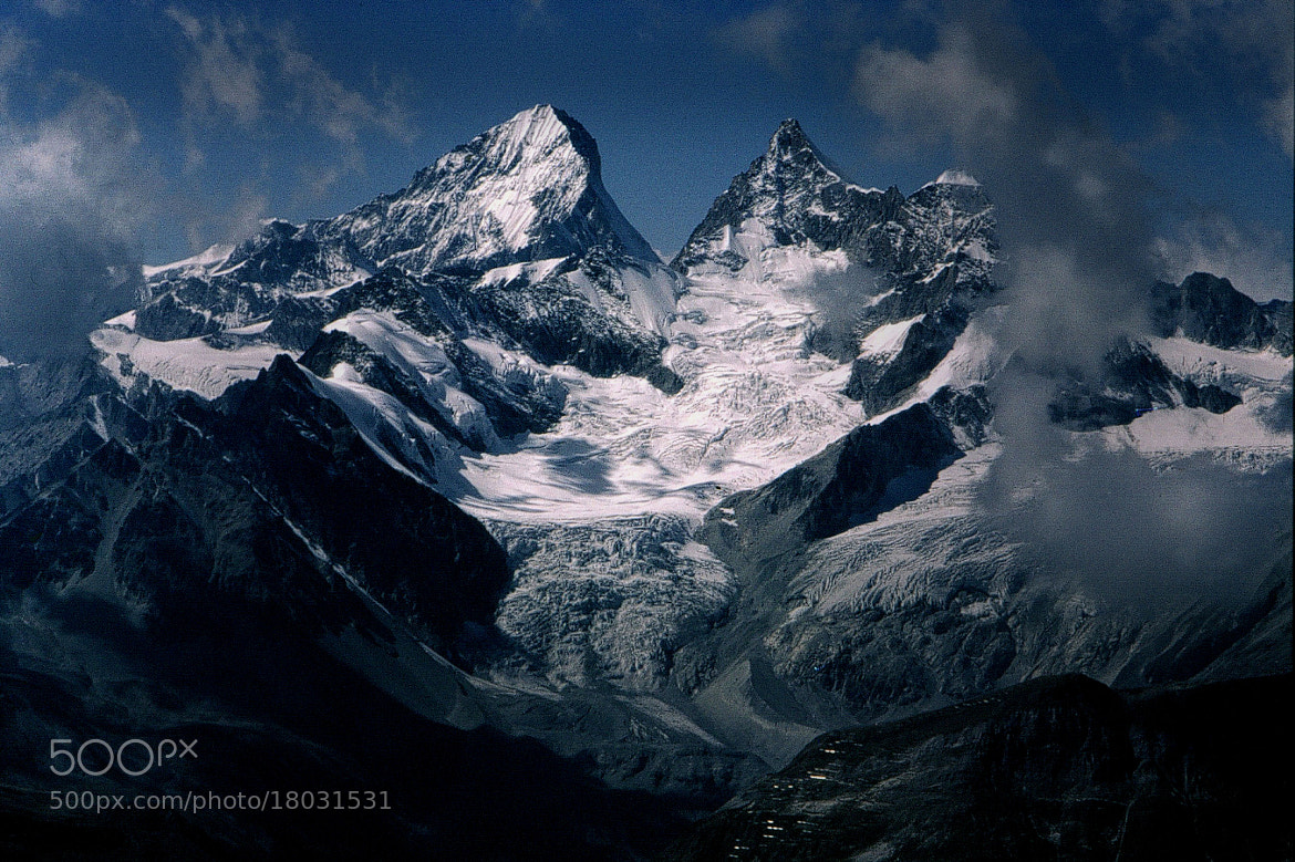 Photograph Dent Blanche by John  Reed on 500px
