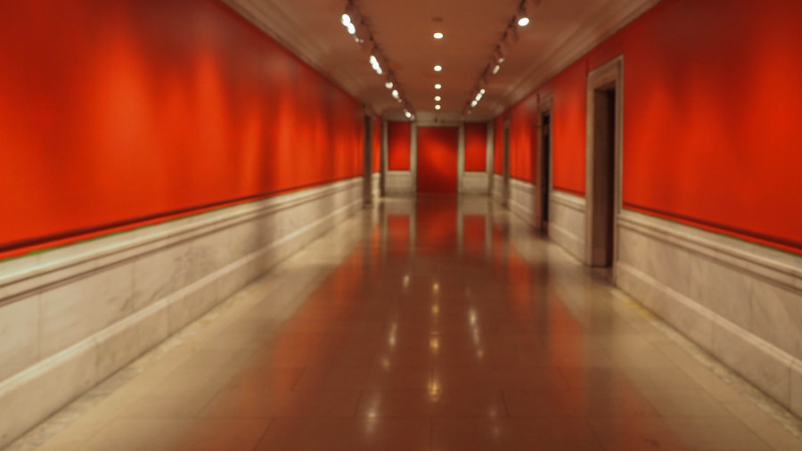 Red Hallway by Nancy Lundebjerg on 500px.com