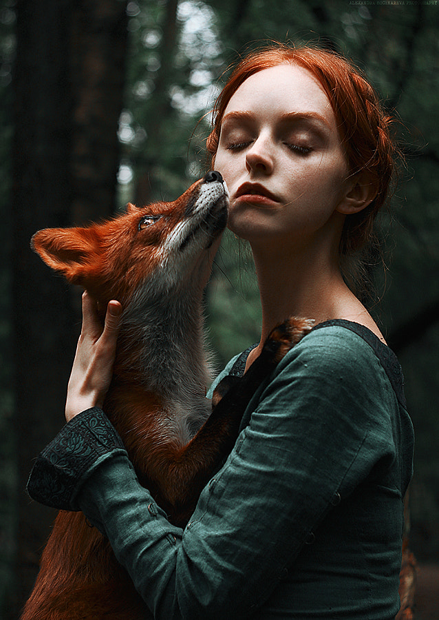 Foxes by Alexandra Bochkareva on 500px.com
