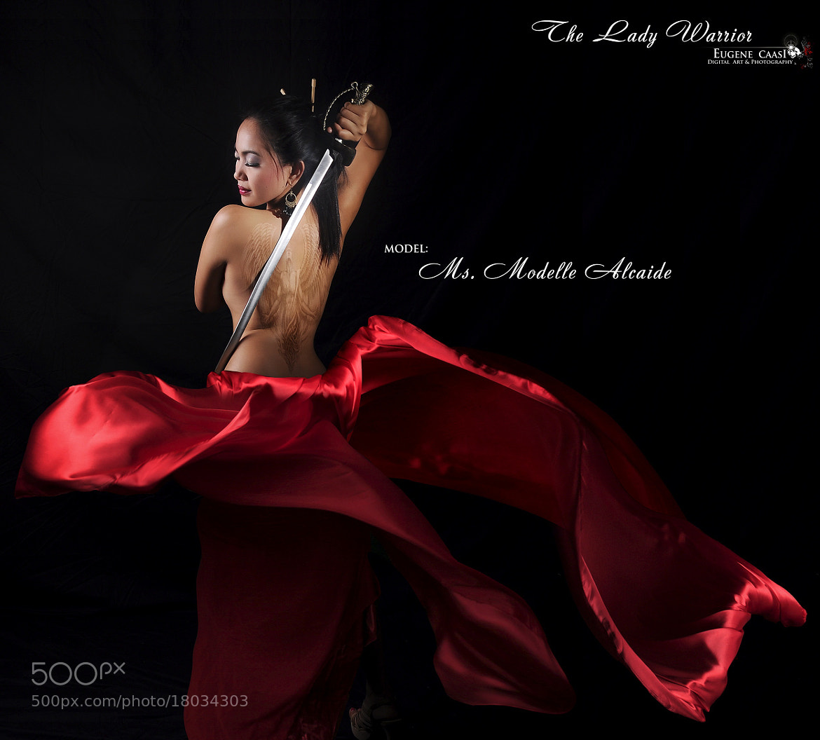 Photograph THE LADY WARRIOR 3 by Eugene Caasi on 500px