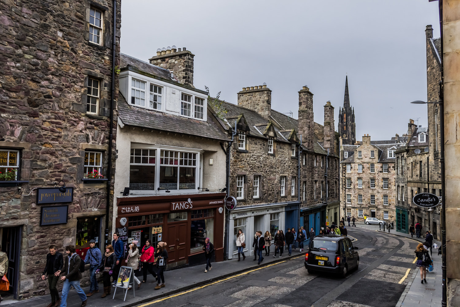 Photograph Walking in Edinburgh by Adam Z on 500px