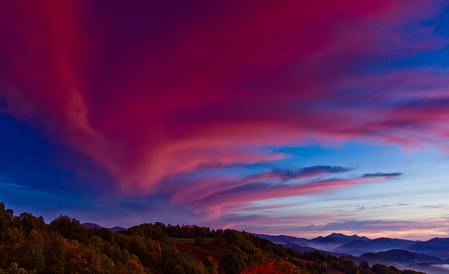 Photograph Red Clouds by Alexander Stoyanov on 500px