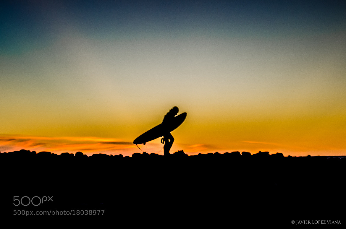 Photograph Surfer - Silhouette by Javier Lopez on 500px