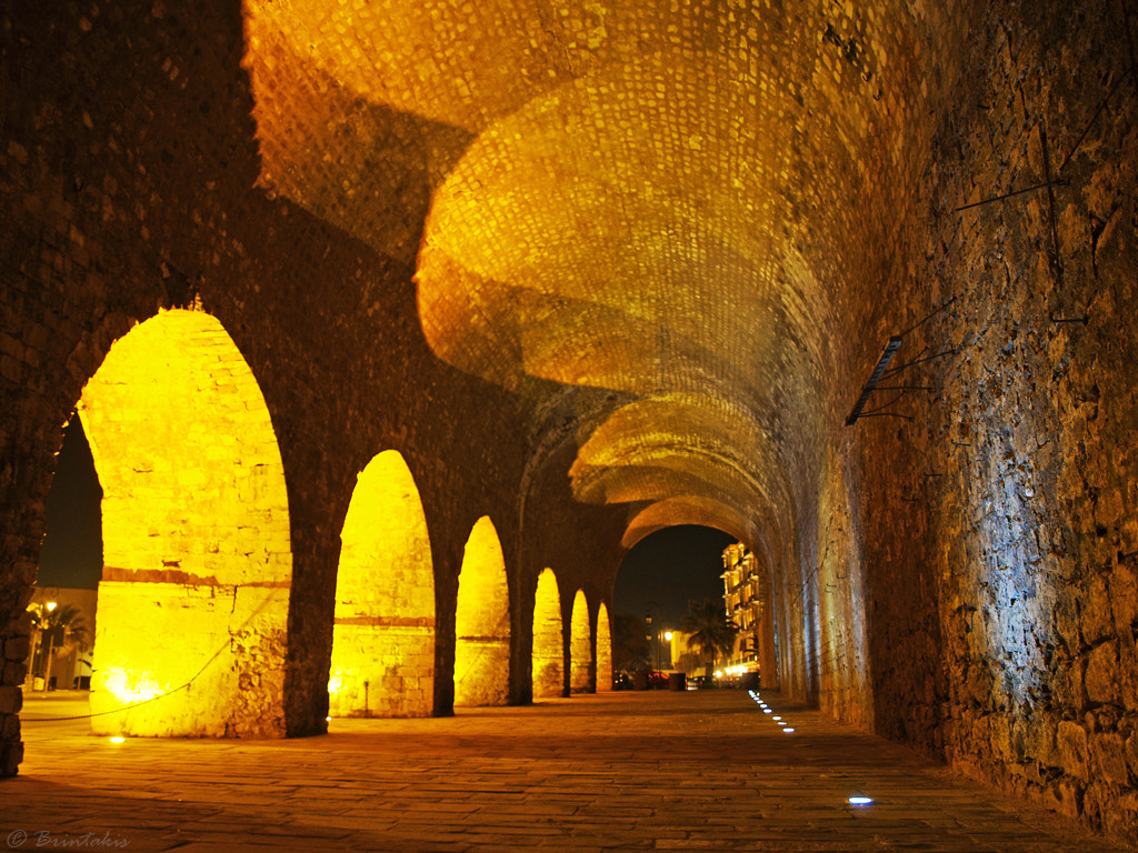 Photograph Illumination of the arches by Konstantinos Brintakis on 500px
