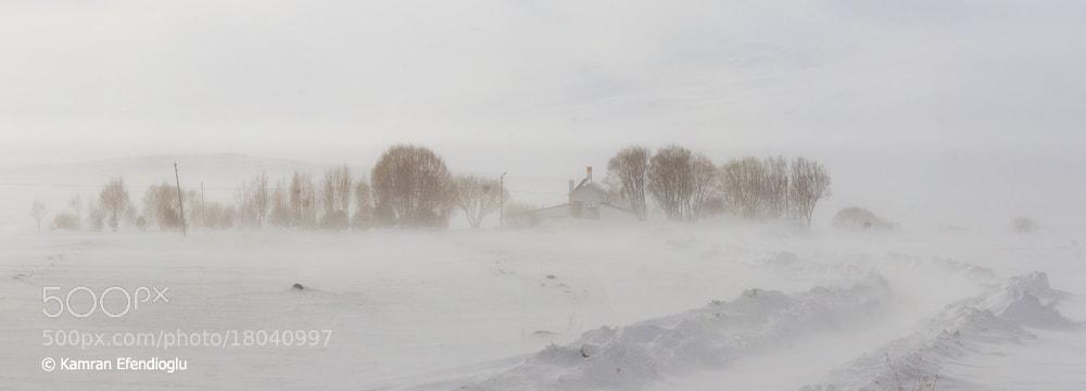 Photograph Storm at Cildir Lake by Kamran Efendioglu on 500px