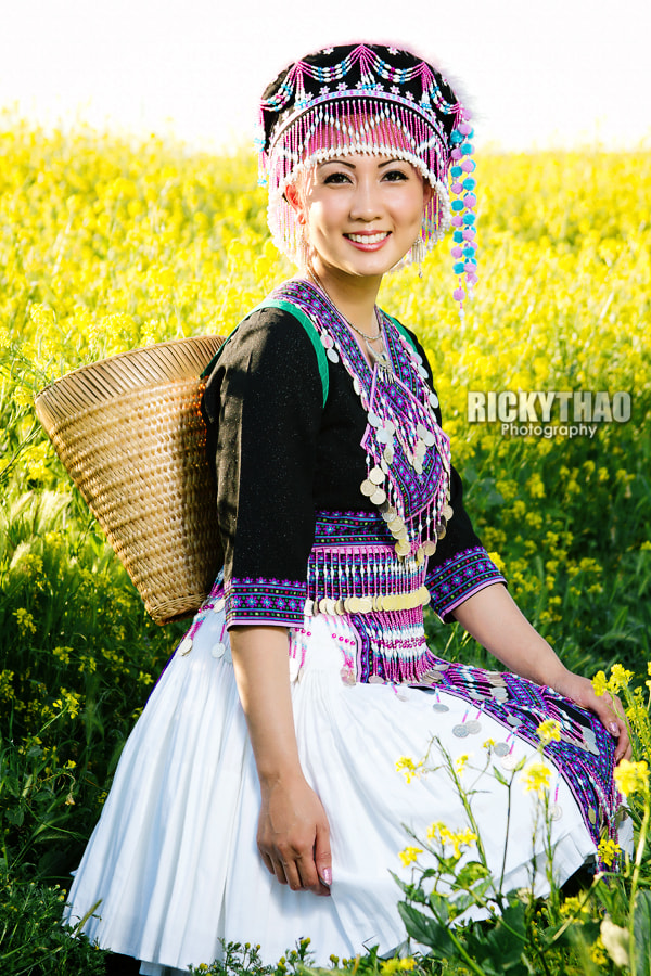 Photograph Mai Thao Hmong by Ricky Thao on 500px