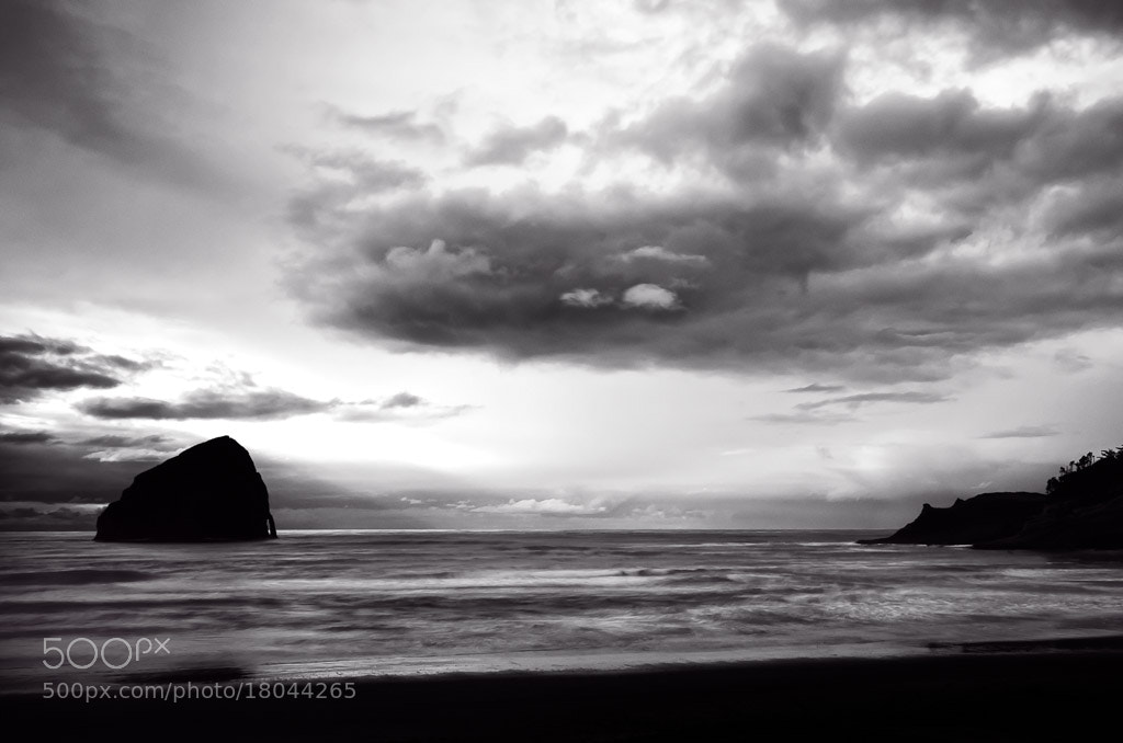 Photograph The Other Haystack Rock by Scott Wood on 500px