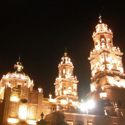Morelia by Night, Nikon COOLPIX P1