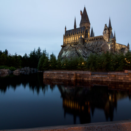 Hogwarts castle, Canon EOS KISS X7, Canon EF-S 10-18mm f/4.5-5.6 IS STM