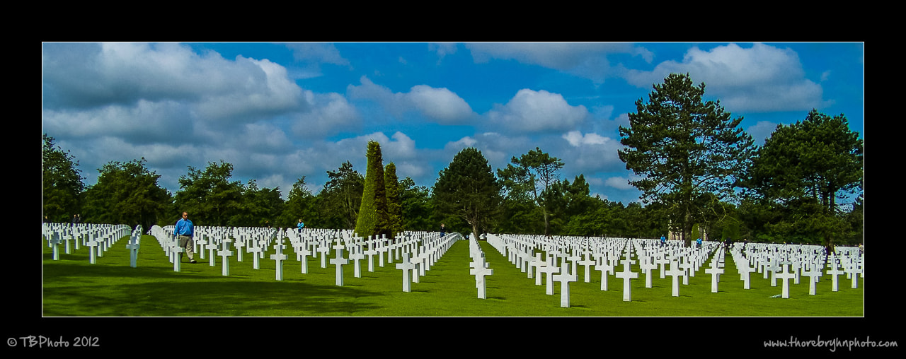 Photograph Normandy American Cemetery and Memorial by Thore Bryhn on 500px