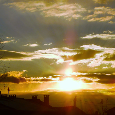 Rayons solaires, Nikon COOLPIX S3500