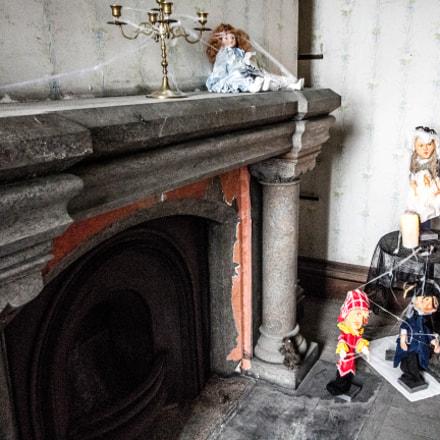 Penrhyn castle - Ghost tour - spooky toys