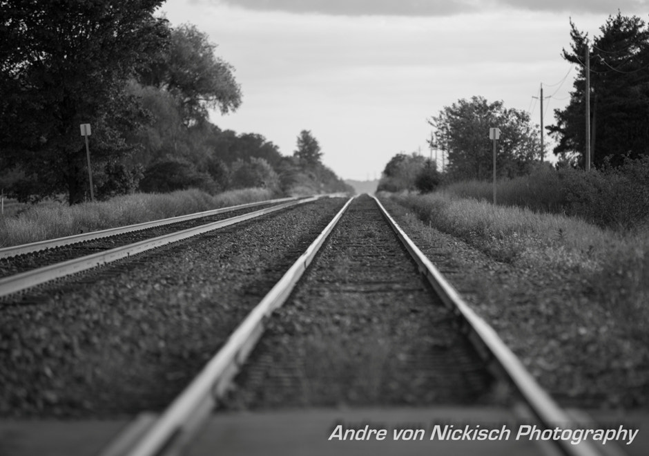 Photograph Tracks to somewhere!!! by Andre von Nickisch on 500px