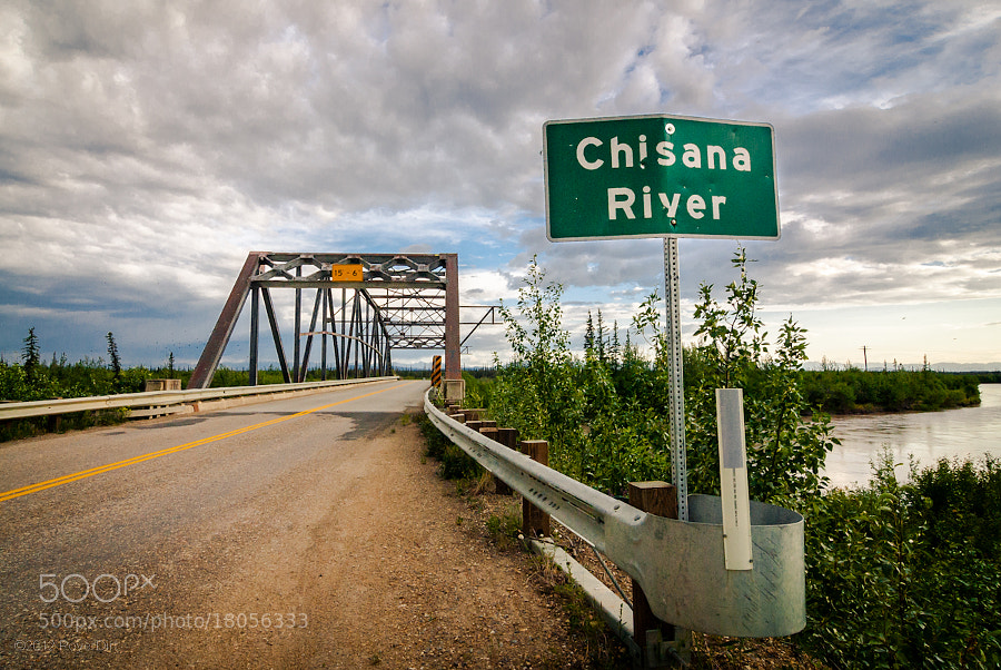 Photograph Bridge over Chisana River, Alaska by Royer Dirt on 500px