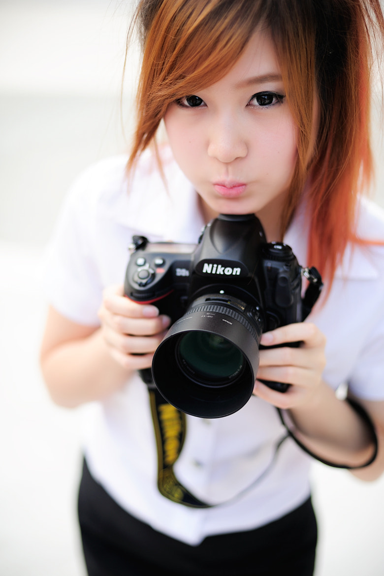 Photograph Nikon Girl by Milk Pocky on 500px
