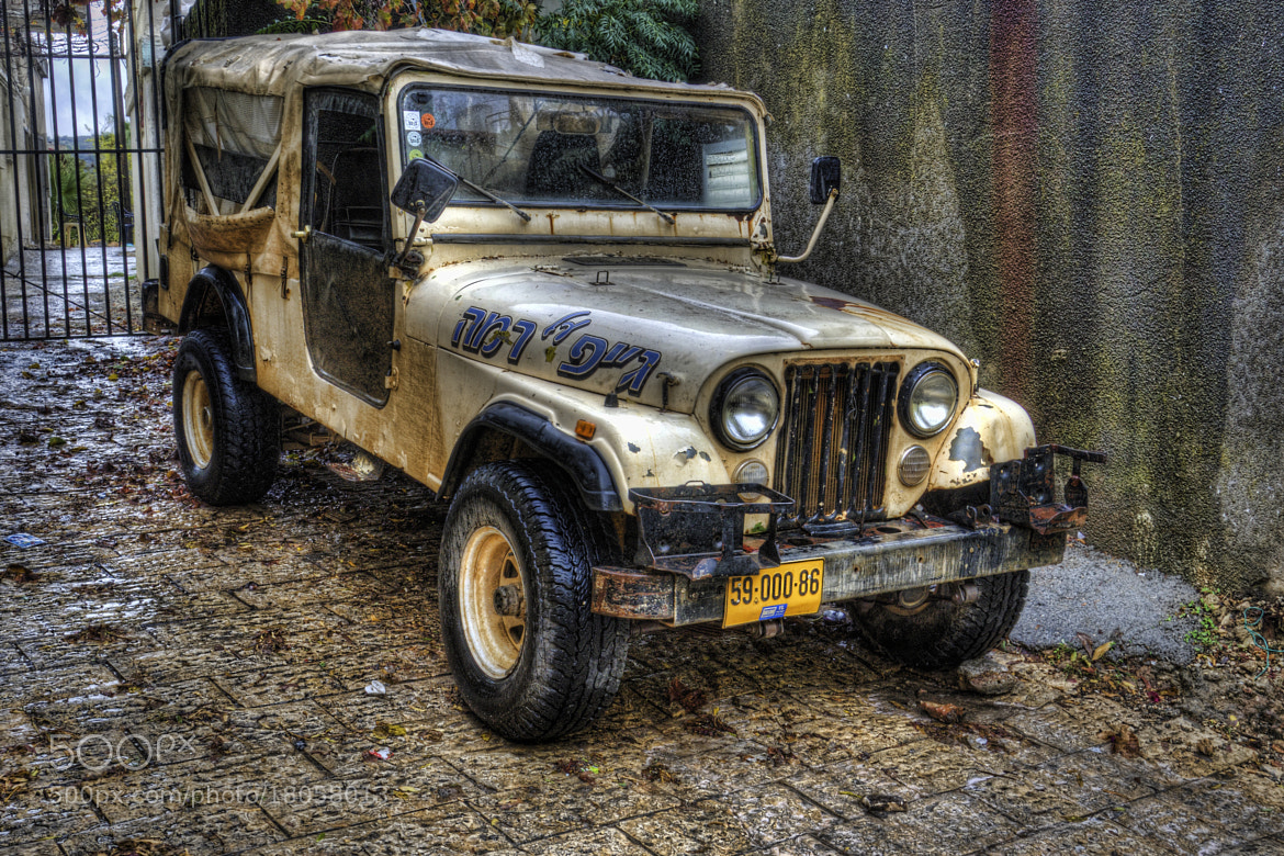 "Photograph [143] A jeep in Hurfeish - Israel ( 33° 0'56.25""N,  35°20'46.69""E) by Ricky Marek on 500px"