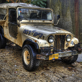 "[143] A jeep in Hurfeish - Israel ( 33° 0'56.25""N,  35°20'46.69""E) by Ricky Marek (rbid)) on 500px.com"