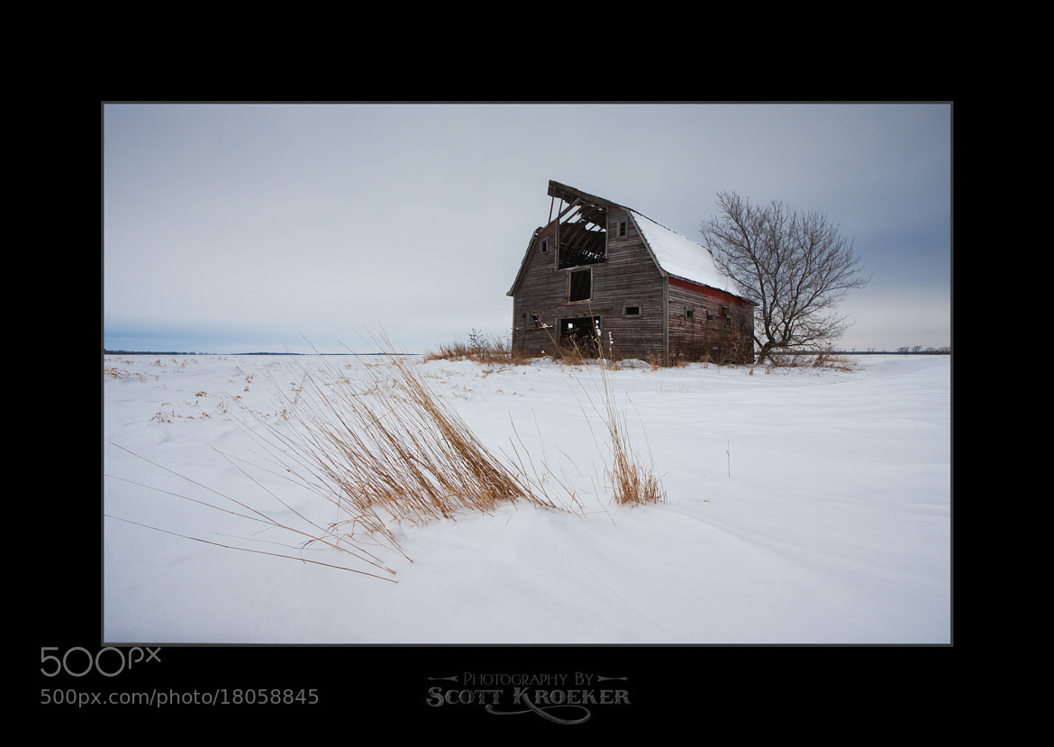 Photograph Prairie Winter by Scott Kroeker on 500px