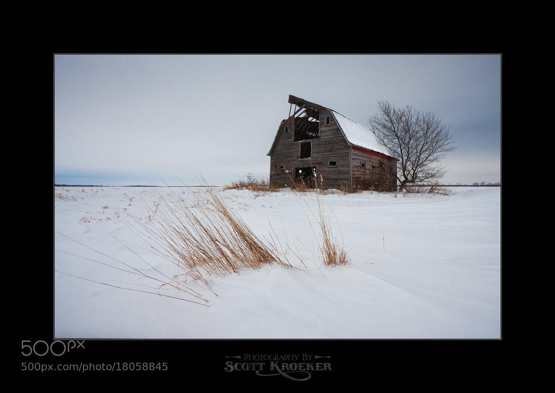 Photograph Prairie Winter by Scott Kroeker on 500px