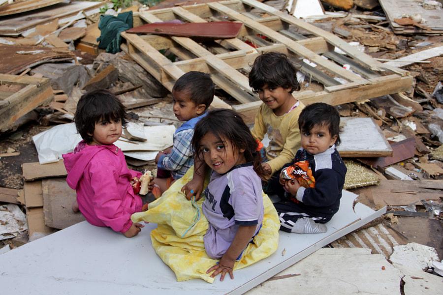 Syrian immigrant children by Guler Ateser on 500px.com
