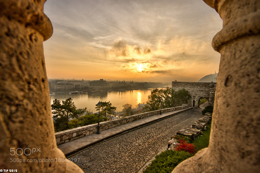 Photograph Sunrise from Buda Castle by Istvan Tabori on 500px