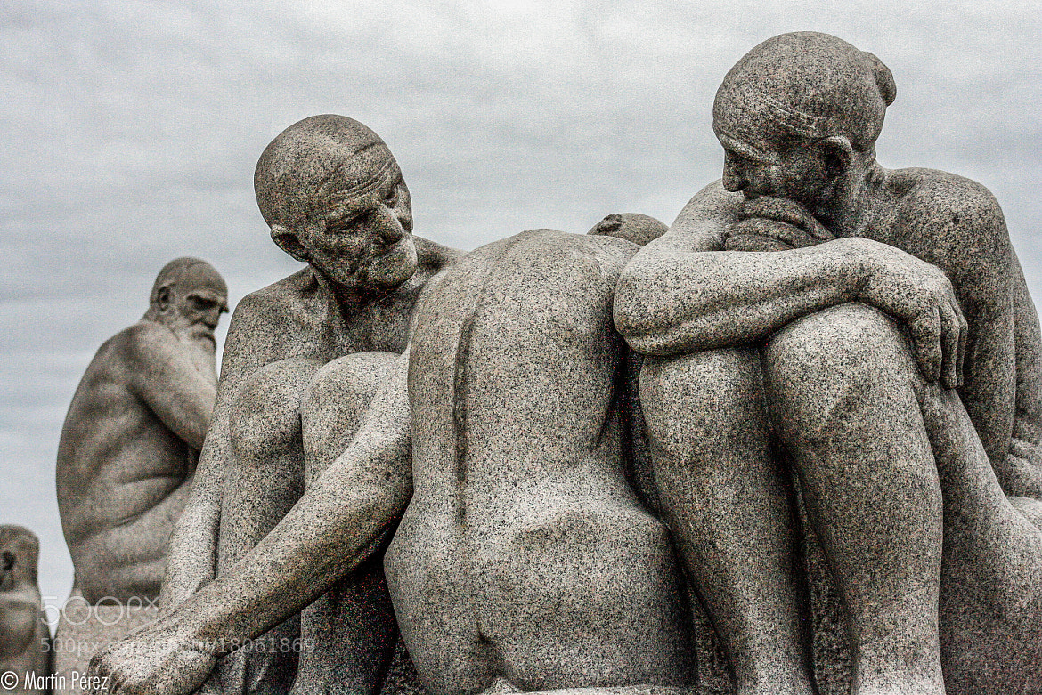 Photograph Vigeland Park - Oslo by Martín Pérez on 500px