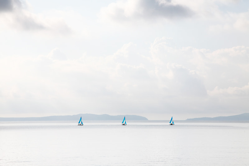 Photograph Three little boats by Gérard Staron on 500px