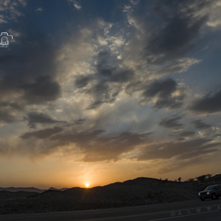 Sunset + sky + clouds, Sony ILCE-7R, Sony E 18-200mm F3.5-6.3 OSS LE