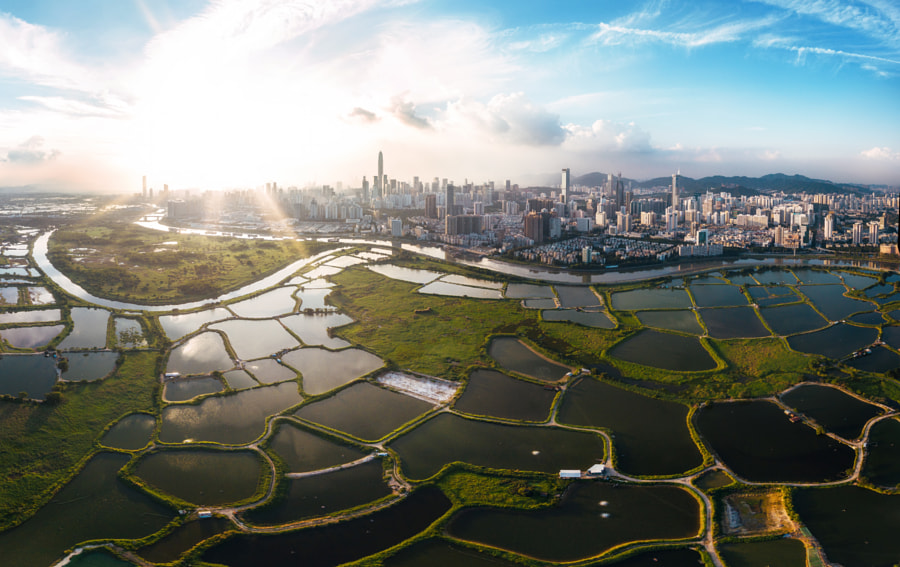 Land Divided by Andy Yeung on 500px.com